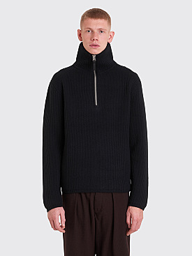 Acne Studios Norman Knit Sweater Black