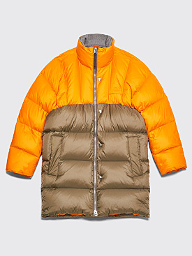 Acne Studios Down Coat Pumpkin Orange