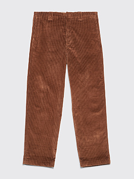 Acne Studios Astym New Corduroy Pants Caramel Brown