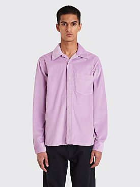 Acne Studios Denver Corduroy Shirt Lilac Purple