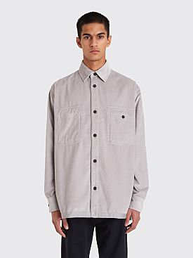 Acne Studios Sigurd Corduroy Shirt Light Grey