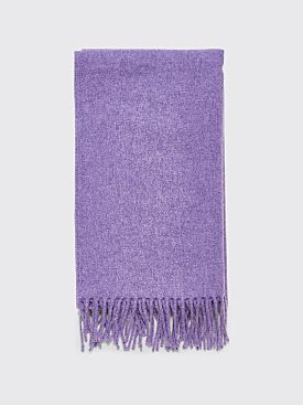 Acne Studios Canada Narrow New Scarf Purple Melange