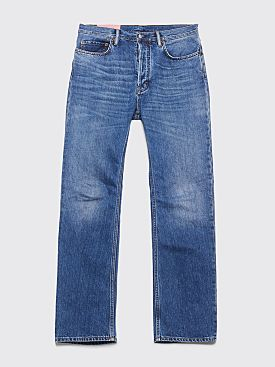 Acne Studios Blå Konst Land Jeans Mid Blue