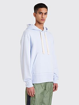 Acne Studios Fellis Logo Sweatshirt Dusty Blue