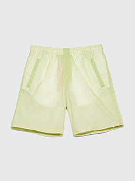 Acne Studios Nylon Shorts Pale Green