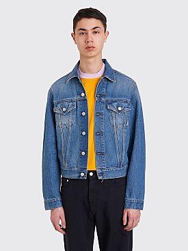 Acne Studios Blå Konst 1998 Jacket Mid Blue Trash
