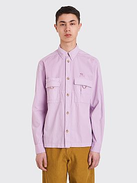 Acne Studios Pocket Shirt Lilac Purple