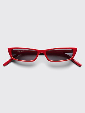 Acne Studios Agar Sunglasses Red / Orange