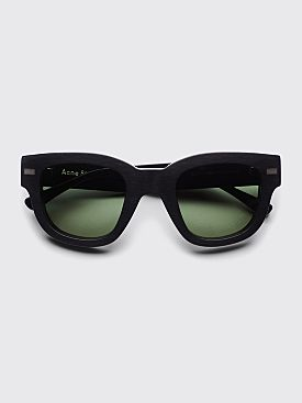 Acne Studios Frame Sunglasses Black / Green