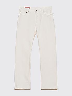 Acne Studios Blå Konst Land Jeans White