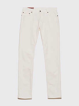 Acne Studios Blå Konst North Jeans White
