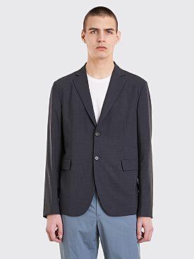Acne Studios Antibes Tr Wool Suit Jacket Dark Grey