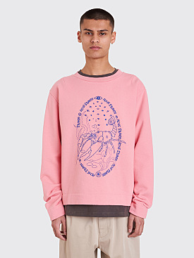 Acne Studios Oslavi E Crayfish Sweatshirt Strawberry Icecream