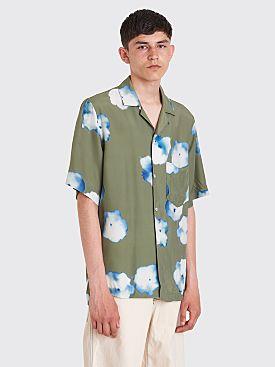 Acne Studios Elms Shirt Print Green
