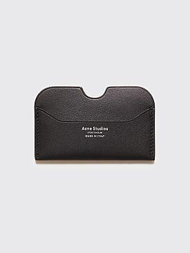 Acne Studios Elmas S Cardholder Black