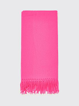 Acne Studios Canada Narrow New Scarf Fluo Pink