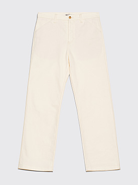 Acne Studios FN-MN-TROU000010 Chino Pants Ivory White