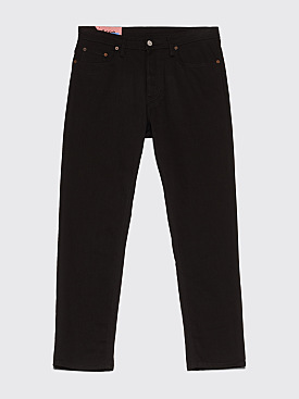 Acne Studios Blå Konst River Jeans Stay Black