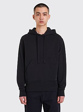 Acne Studios Fellis Logo Hooded Sweatshirt Black