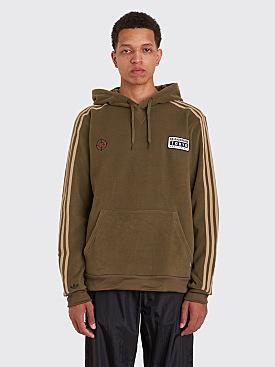 Adidas x Neighborhood Fleece Logo Hooded Sweatshirt Olive