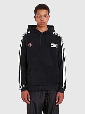 Adidas x Neighborhood Fleece Logo Hooded Sweatshirt Black