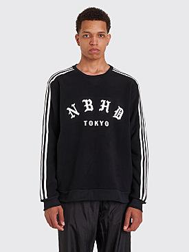 Adidas x Neighborhood Fleece Logo Crew Black