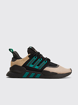 Adidas Consortium x Packer EQT 91/18 Core Black / Sub Green