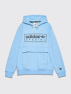 adidas Spezial Banktop Hooded Sweatshirt Clear Blue