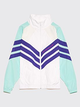 Adidas Originals Nice Kicks Track Jacket White / Turquoise