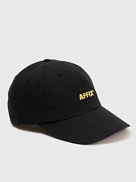AFFIX Embroidery Twill Flex Cap Black