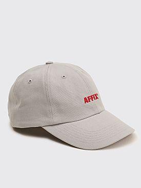 AFFIX Embroidery Twill Flex Cap Light Grey