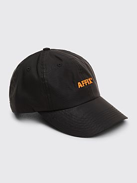 AFFIX Logo Nylon Cap Black