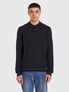 A.P.C. Ricko Polo Sweater Dark Navy