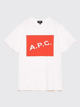 A.P.C. Kraft T-Shirt Red