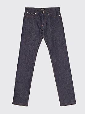 A.P.C. Petit New Standard Raw Jeans Indigo