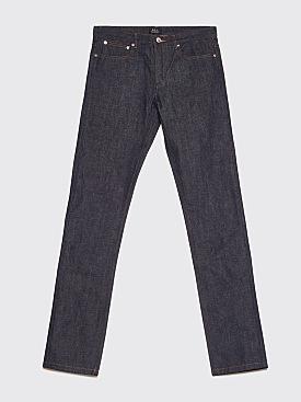 A.P.C. Petit Standard Raw Jeans Indigo