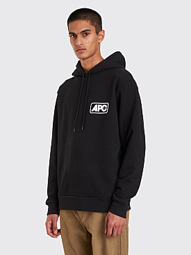 A.P.C. Jean Hooded Sweatshirt Black