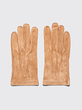 A.P.C. Florent Gloves Camel
