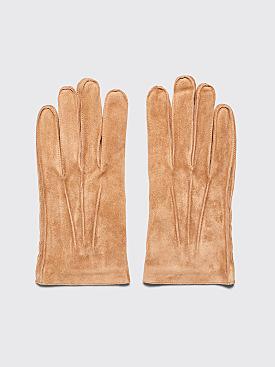 A.P.C. Florent Gloves Camel