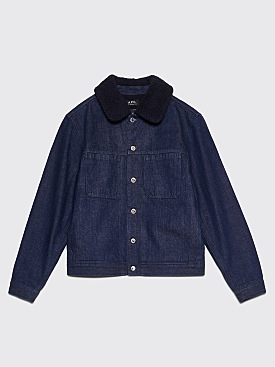 A.P.C. Michigan Jacket Indigo