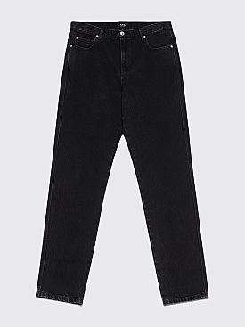 A.P.C. Baggy Jeans Faux Black