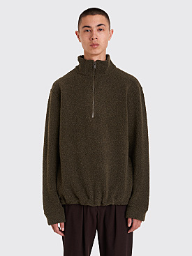 A.P.C. Beaver Sweatshirt Khaki Green