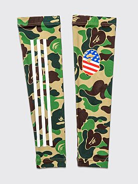 adidas by BAPE Arm Sleeve Green Camo