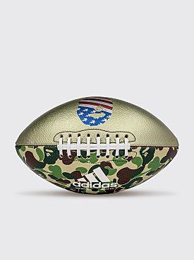 Adidas by BAPE Rifle Football Camo Green