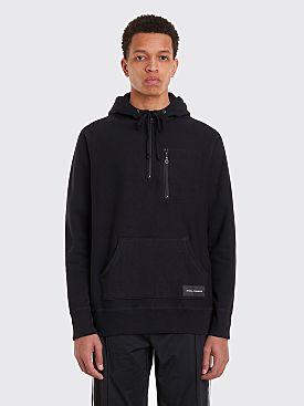 Bianca Chandôn Travel Quarter Zip Hooded Sweatshirt Black