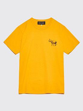 Bianca Chandôn Elephant T-Shirt Gold Yellow
