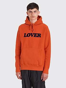 Bianca Chandôn Lover Pullover Hooded Sweatshirt Potter's Clay Red