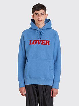 Bianca Chandôn Lover Pullover Hooded Sweatshirt Riverside Blue
