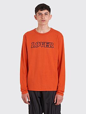 Bianca Chandôn Lover Longsleeve T-Shirt Potter's Clay Red
