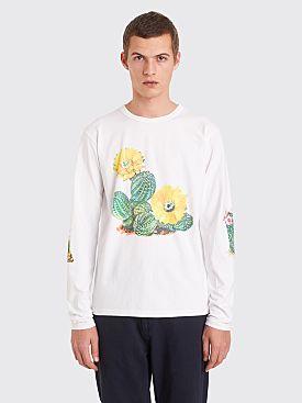 Bianca Chandôn Cactus Longsleeve T-shirt White